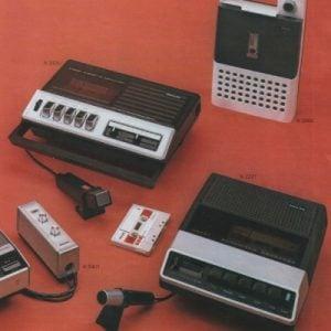 Cassetterecorders