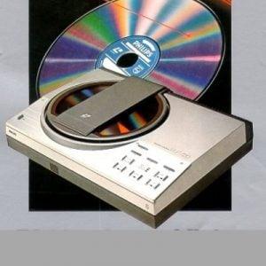 Laserdisc spelers